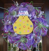 CUTE CHICK EASTER Wreath