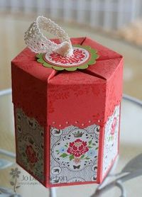 Milk Carton Die Box, Stampin Up