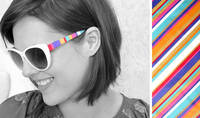 Ntt by Dina - Living Dreaming With Some Crafting in Between: Tutorial : DIY Striped Sunglasses