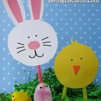 Easter Activities: Making bunny or chicks