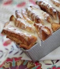 Cinnamon pull-apart bread from Our Best Bites.
