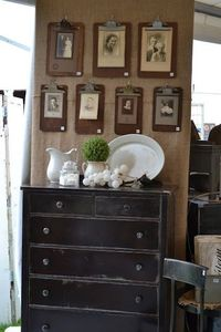 decorate with simple clipboards!