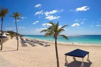 Elbow Beach Bermuda, a luxury resort in the Caribbean.