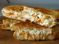 blue buffalo grilled cheese