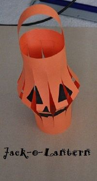 Halloween Craft: Jack-o-Lanterns