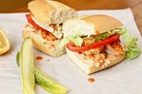 Shrimp Po Boys - These look yummy!