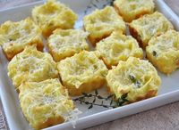 mashed potato puffs ...
