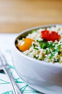 herbed couscous salad #sidedish #maindish