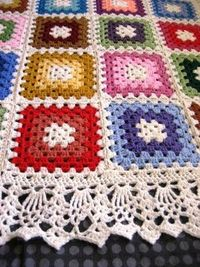 Love the edging from Ravelry.