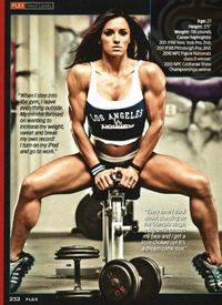 Heather Dees on the bench #fitness #motivation #workout