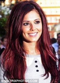 dark red hair want this color