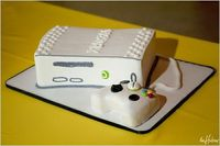 X Box groom's cake