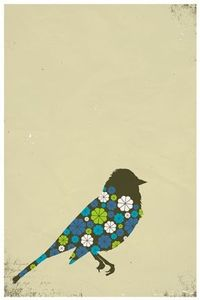 Pattern Birdie Poster from The Poster List
