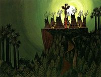 Love this illustration from Mary Blair.