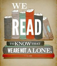 Lonely does not exist in the world of books.