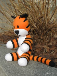 Hobbes Plush by clearkid on deviantART