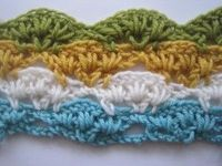 How to crochet multi coloured stitches. This is part 1 of a 4 part tutorial. Well worth the effort.