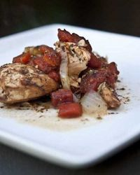 Balsamic Chicken in the crock pot