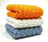 crochet dishcloths i'm thinking i could make myself. or you could purchase them :)