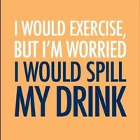 Can't spill that drink!