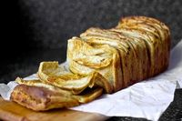 Cheddar, beer and mustard pull-apart bread