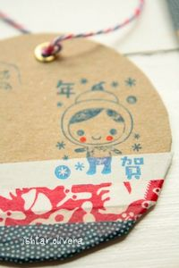 How to make tags with eyelets