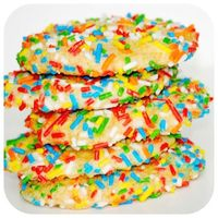 Happy-Go-Lucky: Cool Whip Cookies with Sprinkles