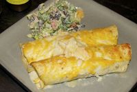 Honey Lime Chicken Enchiladas: Sweet and tangy enchiladas!