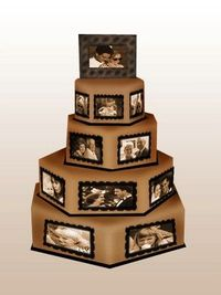 Very nice... Great for reception or rehearsal dinner! Annv Cake