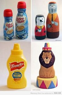 Coffee Penguins & mustard Lion