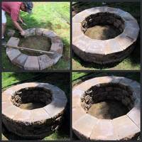 homeroad: Building a Firepit...