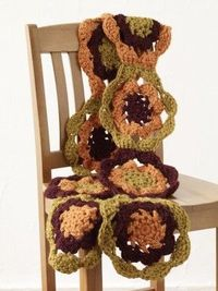 Free #Crochet Pattern: Grace Scarf. This is a Lion Brand pattern, you must log in to see the pattern.