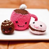 amigurumi snacks!