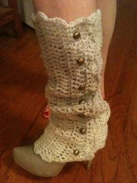 Beautiful legwarmers.