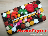 Fruit cake tissue box cover