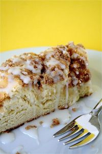 Rich Coffeecake w/Sweet Cheese Filling
