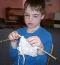 """Knitting is scientifically proven to increase right and left brain interaction. Because it requires two hands to knit, both sides of the brain are stimulated. Not only is knitting a great way to calm down and relax, but knitting also teaches patienc..."