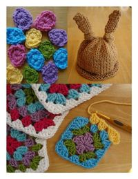 Free Springtime Crochet and Knitting Patterns!