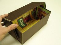 Upcycle old board games into boxes!