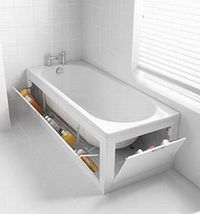 bathtub organization!