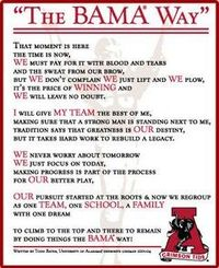 The Bama Way...RTR