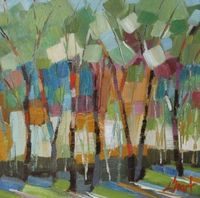 Abstract Trees by Libby Smart