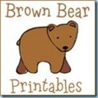 """Free Printables to go along with the book, """"Brown Bear, Brown Bear, What Do You See?"""" Tot, Preschool and Kindergarten skills included."""