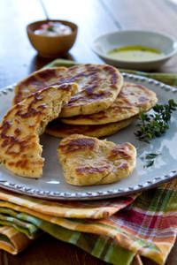 Yogurt Flatbreads