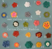 I want to make a whole garden of sweet crocheted flowers.