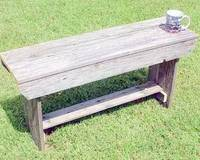 Barnwood Furniture from Old Barn Wood Boards Rustic Tables Farmhouse Bench Shelves Crafts
