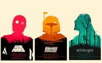 Olly Moss reimagines Star Wars original trilogy!