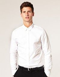ASOS Slim Fit Button Down Shirt