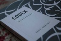 Codex - The Journal of Typography