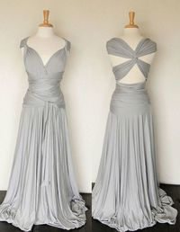 Convertible Infinity Dress Floor length wrap by RestorationThreads.